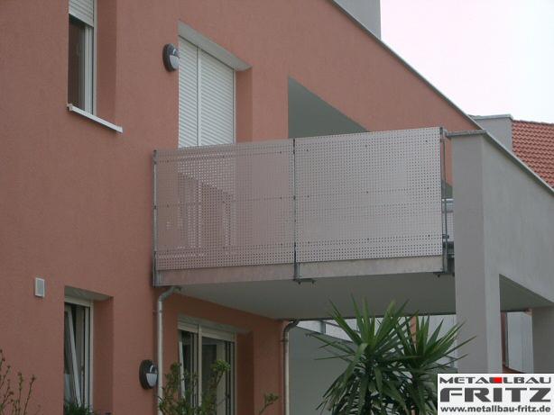 balkongel nder 12 03 schlosserei metallbau fritz. Black Bedroom Furniture Sets. Home Design Ideas