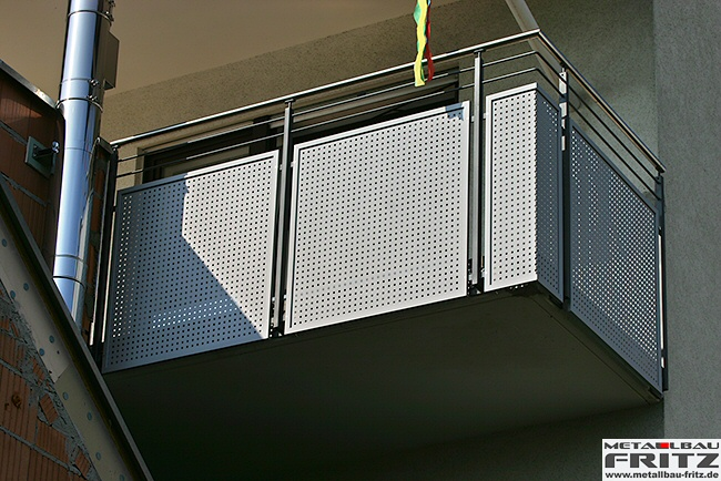 balkongel nder 21 07 schlosserei metallbau fritz. Black Bedroom Furniture Sets. Home Design Ideas