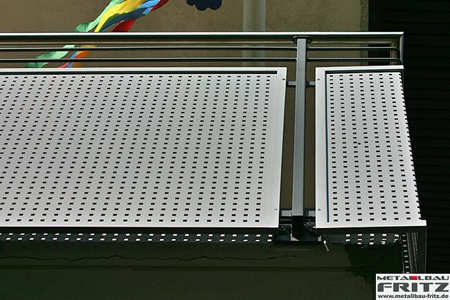 schlosserei metallbau fritz balkongel nder 21 09. Black Bedroom Furniture Sets. Home Design Ideas