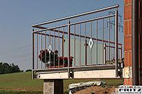 balkon balkongel nder 23 schlosserei metallbau fritz. Black Bedroom Furniture Sets. Home Design Ideas
