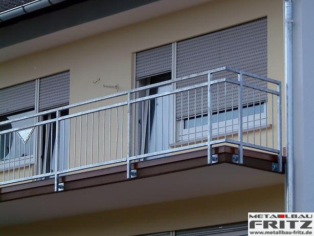 balkongel nder 01 03 schlosserei metallbau fritz. Black Bedroom Furniture Sets. Home Design Ideas