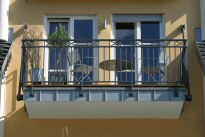 Balkon Gel�nder 19-03 - (c) by Metallbau Fritz