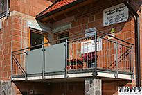 schlosserei metallbau fritz balkon stahlbalkon 24. Black Bedroom Furniture Sets. Home Design Ideas