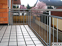 Balkon Gel�nder 27-02 - (c) by Metallbau Fritz