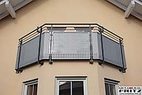 Balkon Gel�nder 35-05 - (c) by Metallbau Fritz