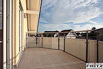 Balkon Gel�nder 35-11 - (c) by Metallbau Fritz
