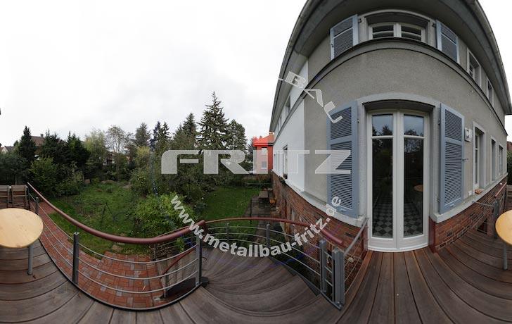 stahlbalkon balkongel nder 37 01. Black Bedroom Furniture Sets. Home Design Ideas