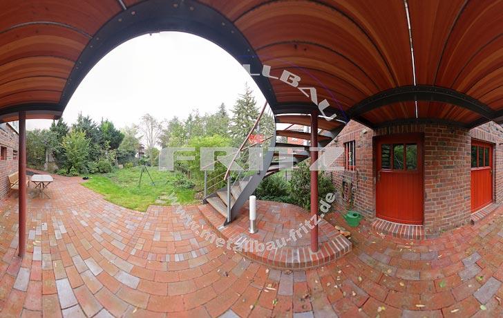 stahlbalkon balkongel nder 37 03 schlosserei metallbau fritz. Black Bedroom Furniture Sets. Home Design Ideas