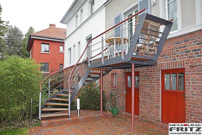 metallbau fritz stahlbalkon balkongel nder 37 05. Black Bedroom Furniture Sets. Home Design Ideas