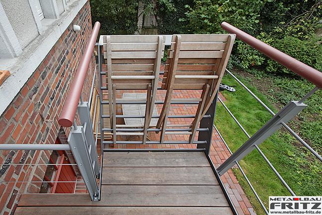 stahlbalkon balkongel nder 37 12 metallbau fritz. Black Bedroom Furniture Sets. Home Design Ideas