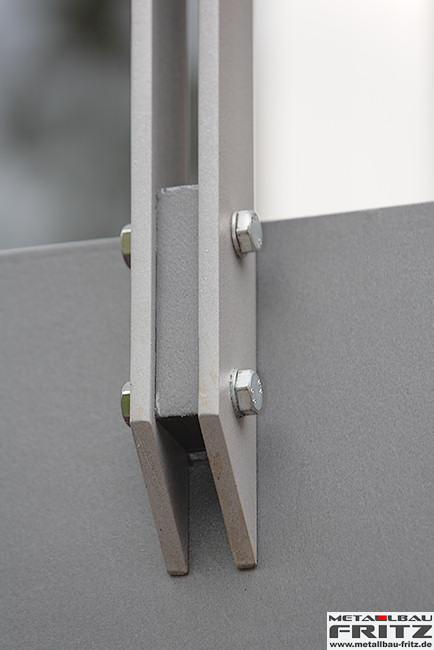 stahlbalkon balkongel nder 37 22 metallbau fritz. Black Bedroom Furniture Sets. Home Design Ideas