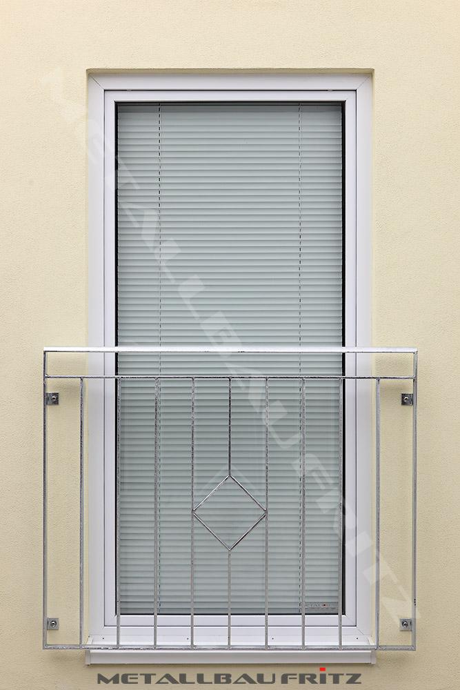 hochwertiger franz balkon aus edelstahl mit einer. Black Bedroom Furniture Sets. Home Design Ideas