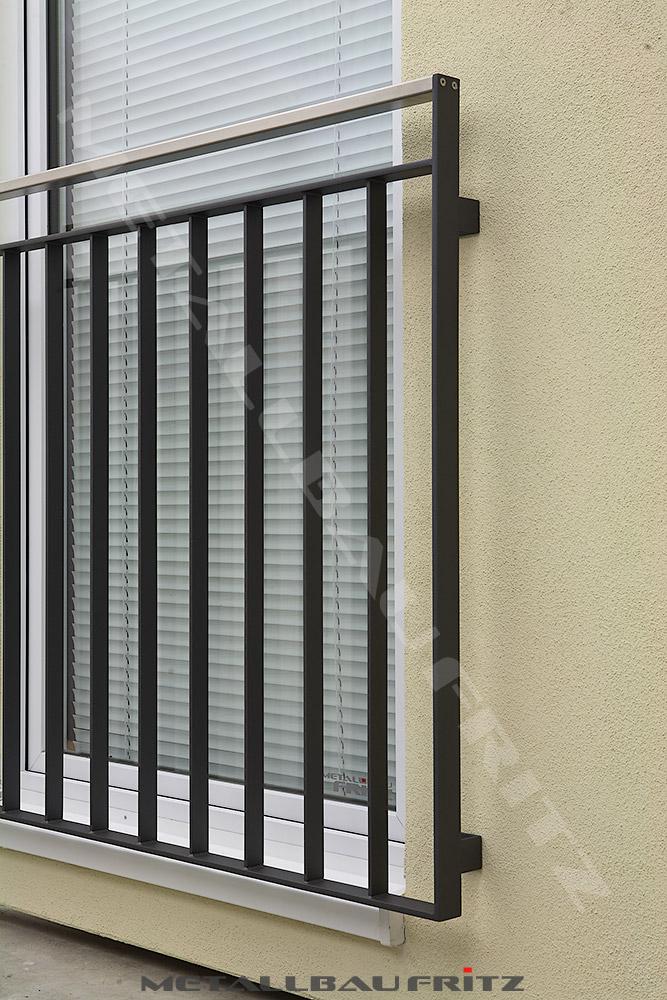 schlosserei metallbau fritz franz sischer balkon 56 04. Black Bedroom Furniture Sets. Home Design Ideas