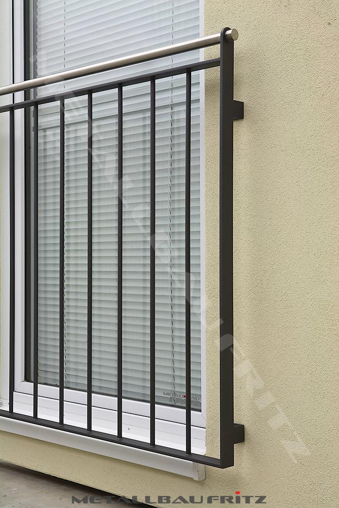 schlosserei metallbau fritz franz sischer balkon 57 04. Black Bedroom Furniture Sets. Home Design Ideas