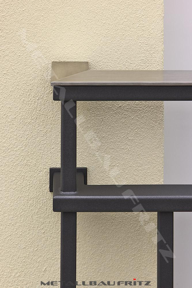 metallbau fritz franz sischer balkon 60 15. Black Bedroom Furniture Sets. Home Design Ideas