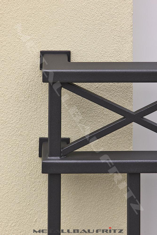 metallbau fritz franz sischer balkon 61 05. Black Bedroom Furniture Sets. Home Design Ideas