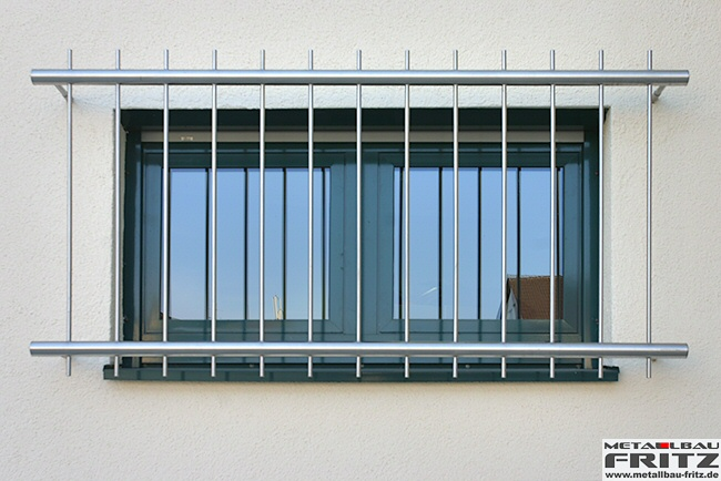 Fenstergitter 08-02  -  (c) by Metallbau Fritz