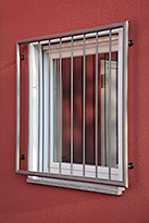 Fenstergitter 10-02  -  (c) by Metallbau Fritz