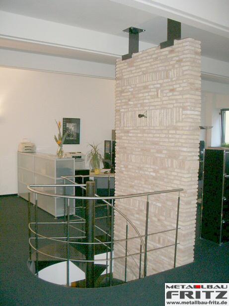 spindeltreppe innen 04 06. Black Bedroom Furniture Sets. Home Design Ideas