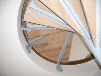 Spindeltreppe-05 - (c) by Metallbau Fritz
