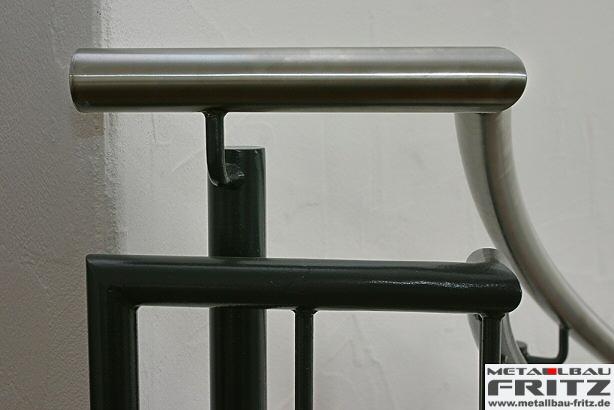 spindeltreppe innen 07 06. Black Bedroom Furniture Sets. Home Design Ideas