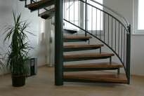 spindeltreppe innen 07 02 metallbau fritz. Black Bedroom Furniture Sets. Home Design Ideas