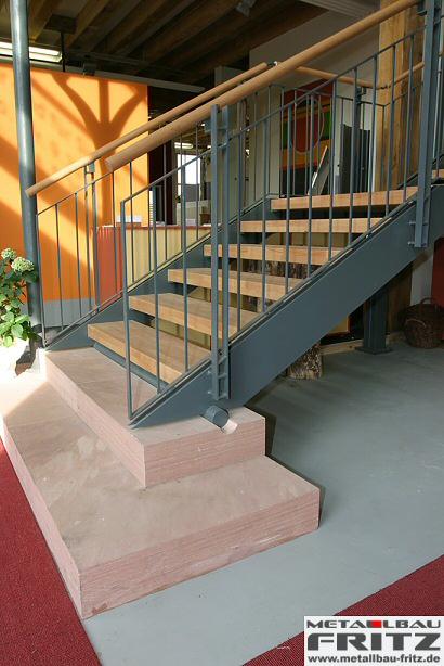treppe innen 08 07 metallbau fritz. Black Bedroom Furniture Sets. Home Design Ideas