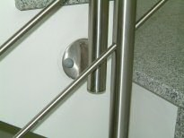 schlosserei metallbau fritz edelstahl treppengel nder innen 04 04. Black Bedroom Furniture Sets. Home Design Ideas