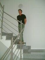 treppengel nder edelstahl schlosserei und metallbau fritz. Black Bedroom Furniture Sets. Home Design Ideas