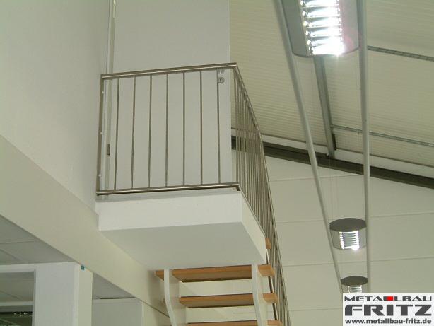 edelstahl treppengel nder innen 10 06. Black Bedroom Furniture Sets. Home Design Ideas