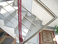 metallbau fritz edelstahl treppengel nder innen 15. Black Bedroom Furniture Sets. Home Design Ideas