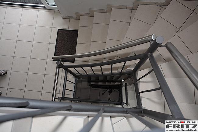 schlosserei metallbau fritz treppengel nder innen 23 09. Black Bedroom Furniture Sets. Home Design Ideas