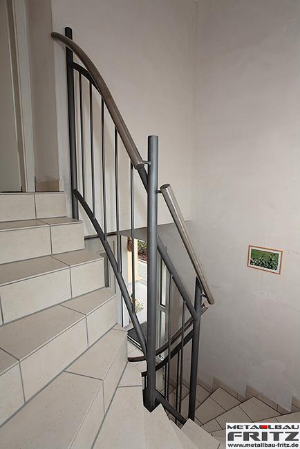 metallbau fritz treppengel nder innen 23 10. Black Bedroom Furniture Sets. Home Design Ideas